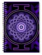 Mandala Hypurplectic Spiral Notebook