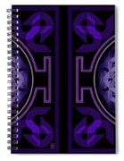 Mandala Hypurplectic - Stereogram Spiral Notebook