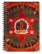 Mandala Naro Khechari Spiral Notebook