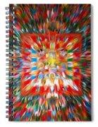 Mandala Vasudhara Spiral Notebook