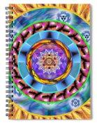 Mandala Wormhole 101 Spiral Notebook