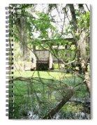 Mandalay Bridge Spiral Notebook