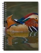 Mandarin Duck Spiral Notebook
