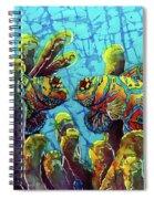 Mandarinfish  Spiral Notebook