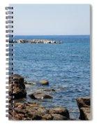 Mandraki Coastline Nisyros Spiral Notebook