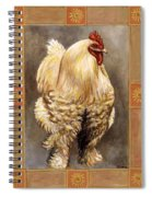Mandy The Rooster Spiral Notebook