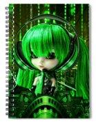 Manga Matrix Spiral Notebook