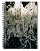 Mangrove Aerial Roots Spiral Notebook