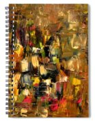 Manhattan At Dawn Spiral Notebook