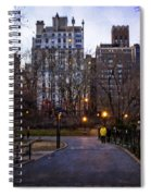 Manhattan At Dusk Spiral Notebook