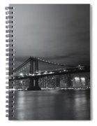 Manhattan Bridge - New York City Spiral Notebook
