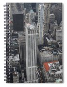 Manhattan City Canyons Spiral Notebook