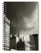 Manhattan Contrast Spiral Notebook