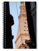 Manhattan Dusk Spiral Notebook