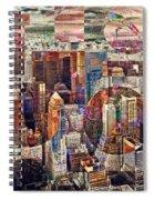 Manhattan Sunrise Spiral Notebook