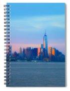 Manhattan In The Morning Spiral Notebook