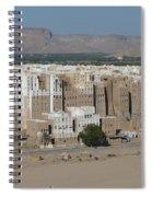 Manhattan Of The Desert Spiral Notebook