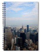 Manhattan Overview Spiral Notebook