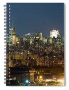 Manhattan Skyline, New York City, New Spiral Notebook