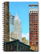 Manhattan Skyscrapers Spiral Notebook
