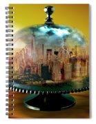 Manhattan Under The Dome Spiral Notebook