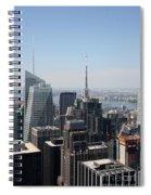 Manhattan View 2012 Spiral Notebook