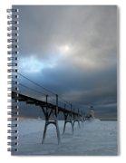 Manistee Lighthouse 7 Spiral Notebook