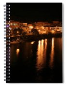 Manistee River Channel 2 Spiral Notebook