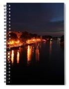 Manistee River Channel Spiral Notebook
