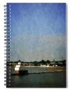 Manitowoc Breakwater Light 2.0 Spiral Notebook