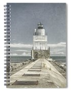 Manitowoc Breakwater Lighthouse II Spiral Notebook
