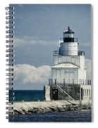 Manitowoc Breakwater Lighthouse Spiral Notebook