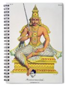 Mannarsouvami, Engraved By De Motte Spiral Notebook