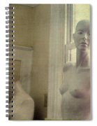 Mannequin In The Window Spiral Notebook