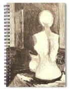 Mannequin Life Spiral Notebook