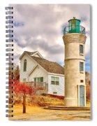Manning Light Spiral Notebook