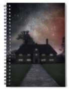 Manor At Night Spiral Notebook