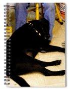 Man's Best Friend Spiral Notebook