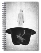 The Magic Hat Spiral Notebook