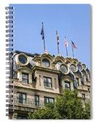 Mansard Roof Apartments Spiral Notebook