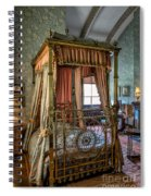 Mansion Bedroom Spiral Notebook