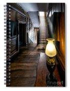 Mansion Lamp Spiral Notebook