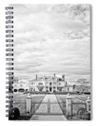 Mansion Rye New Hampshire Open Edition Spiral Notebook