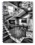 Mansion Stairway V2 Spiral Notebook