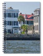 Mansions By The Water Spiral Notebook