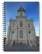 Manti Temple East Side Spiral Notebook
