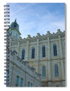 Manti Temple North Spiral Notebook
