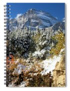 Many Glacier Colors Spiral Notebook