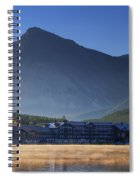 Many Glacier Hotel Spiral Notebook
