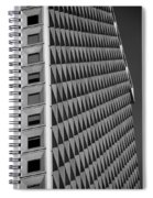 Many Windows In Black And White Spiral Notebook